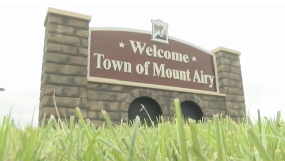 Graphcom Unveils New Mount Airy Welcome Monument Sign
