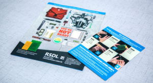 Emergent BioSolutions RSDL printed collateral