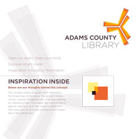 Adams County Library System Moodboard 1