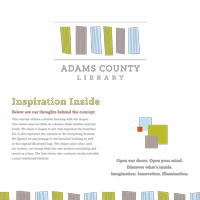 Adams County Library System Moodboard 2