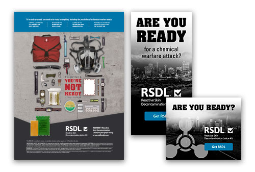 RSDL print and web ads