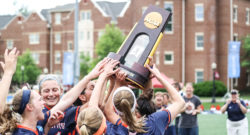 gettysburg college girls field hockey win championship award