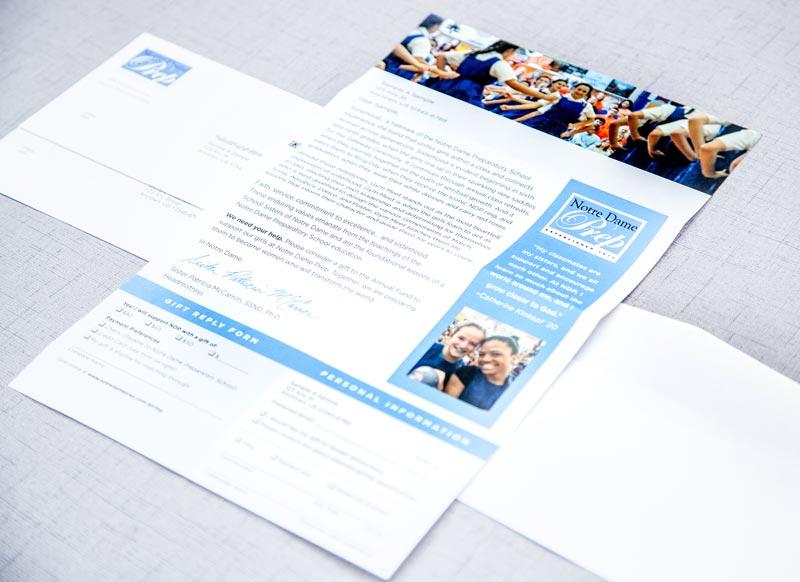 Notre Dame Prep appeal letter sample