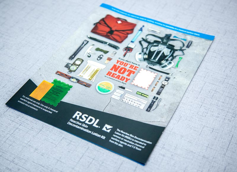 RSDL sales aid printed piece