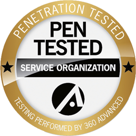PEN tested logo