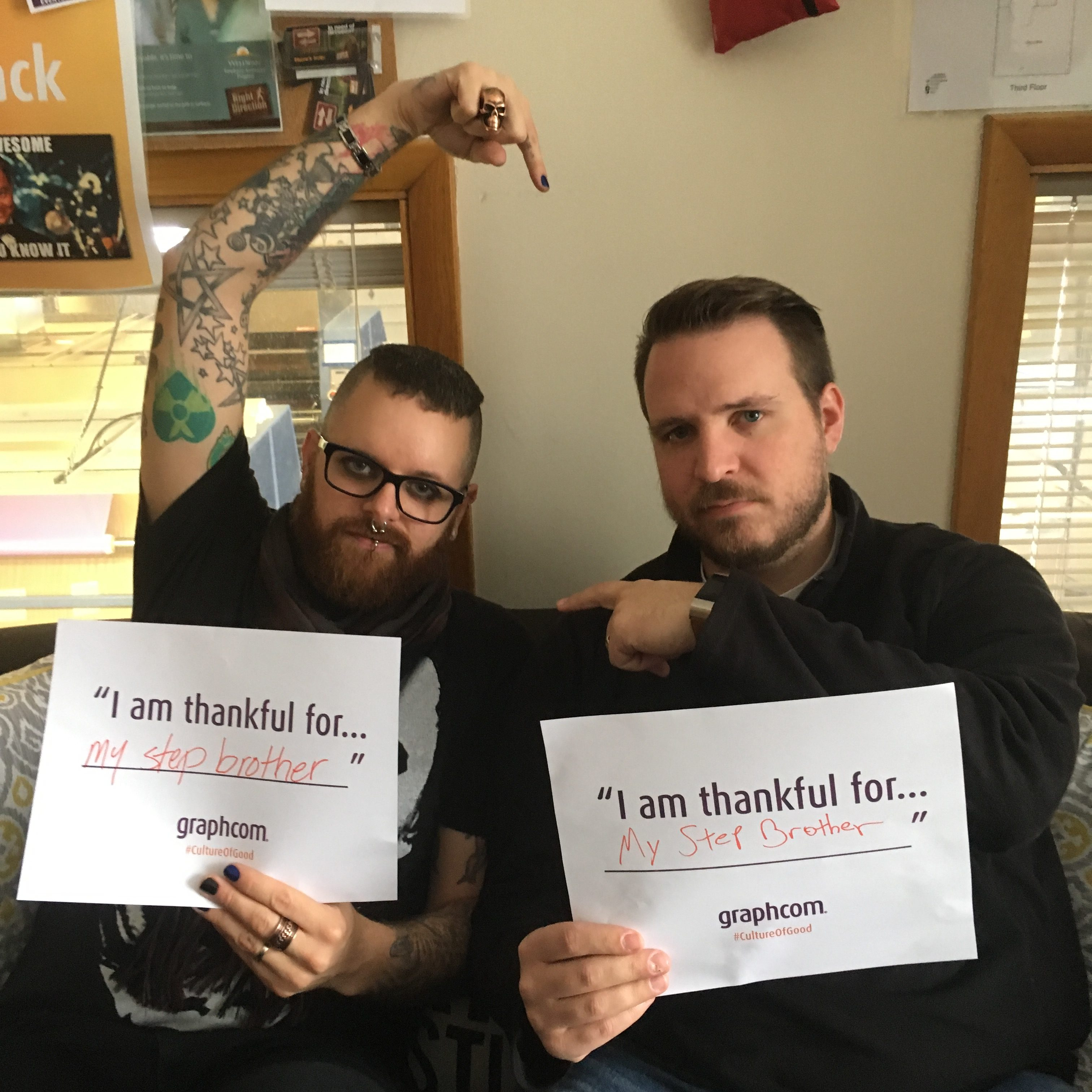 travis and cory thankful