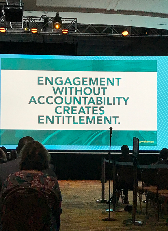 screen shot of seminar during workhuman event