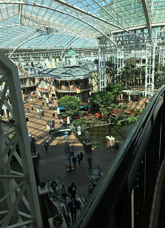interior shot of the gaylord national resort and convention center in national harbor md