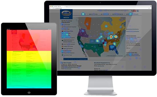 gvm heat map results