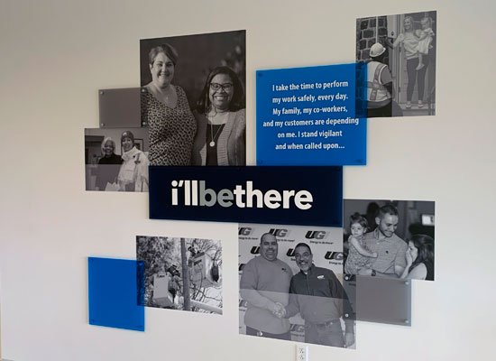 illbethere campaign signage