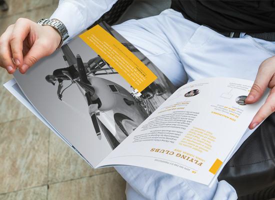 interior spread of AOPA booklet