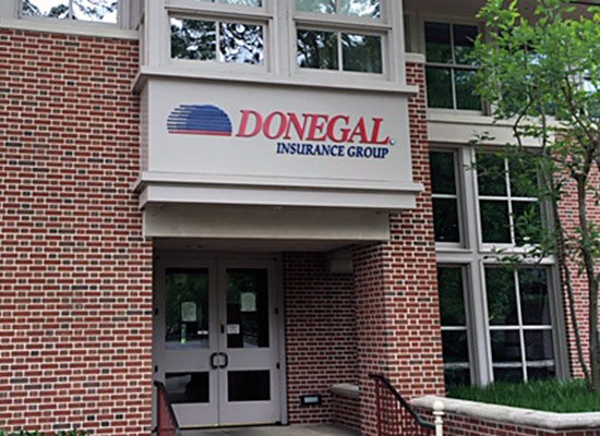 Donegal Insurance Group training center building signage