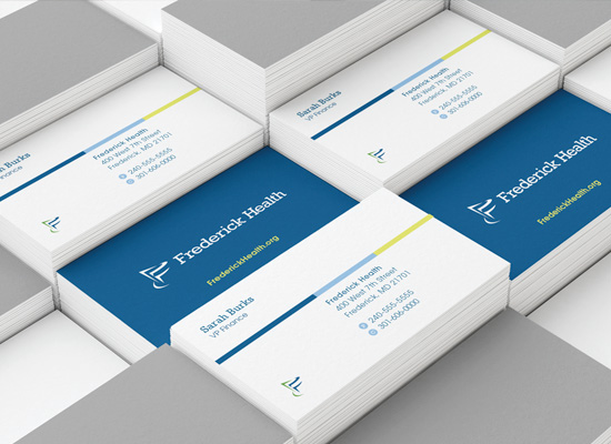 Frederick Health business cards