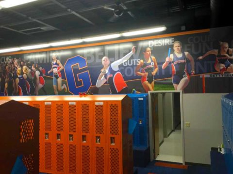 Gettysburg Locker Room Wall Graphics