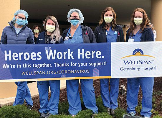 WellSpan Heroes Work Here banner