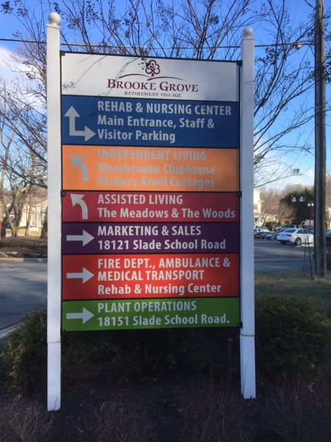 monolith complex directory sign