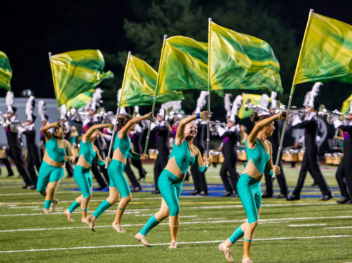 digitally printed colorguard flags