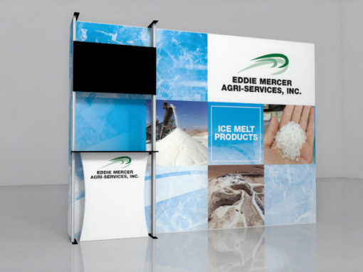 custom printed tradeshow display