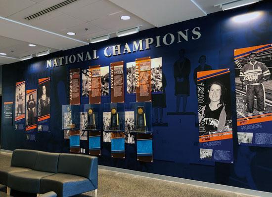 gettysburg college national champions signage