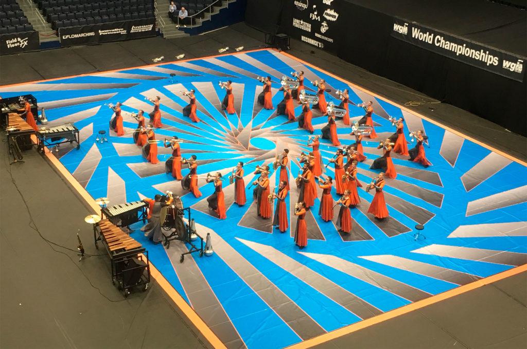 grand format vinyl performance floor tarp