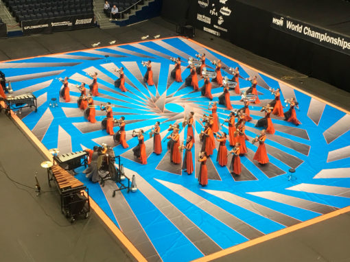 grand format vinyl performance floor tarp