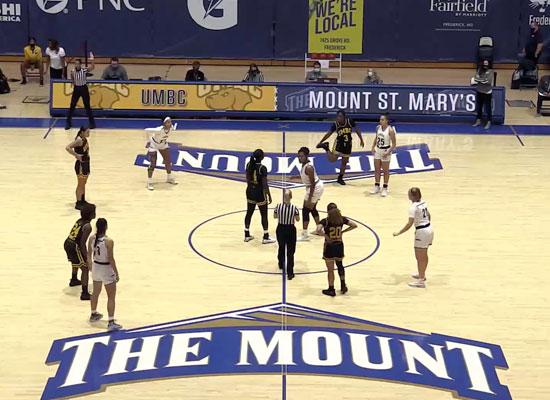 msmu girls basketball game