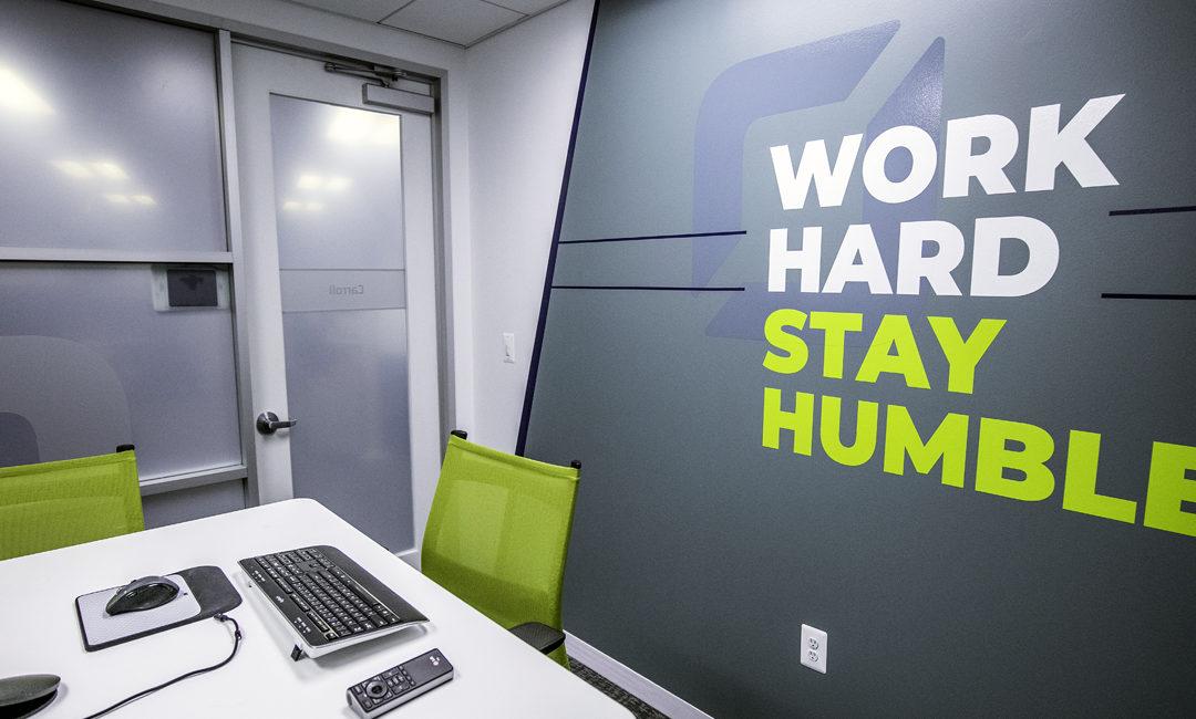 A Custom Office Space