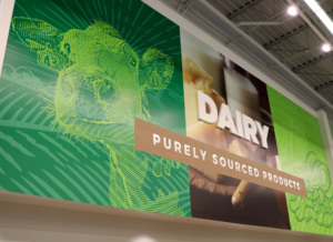 dairy wall sign