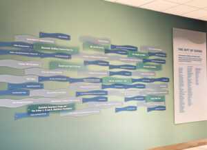 full donor wall