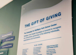 close up of gift of giving