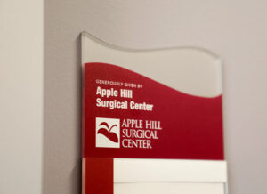 acrylic room plaque